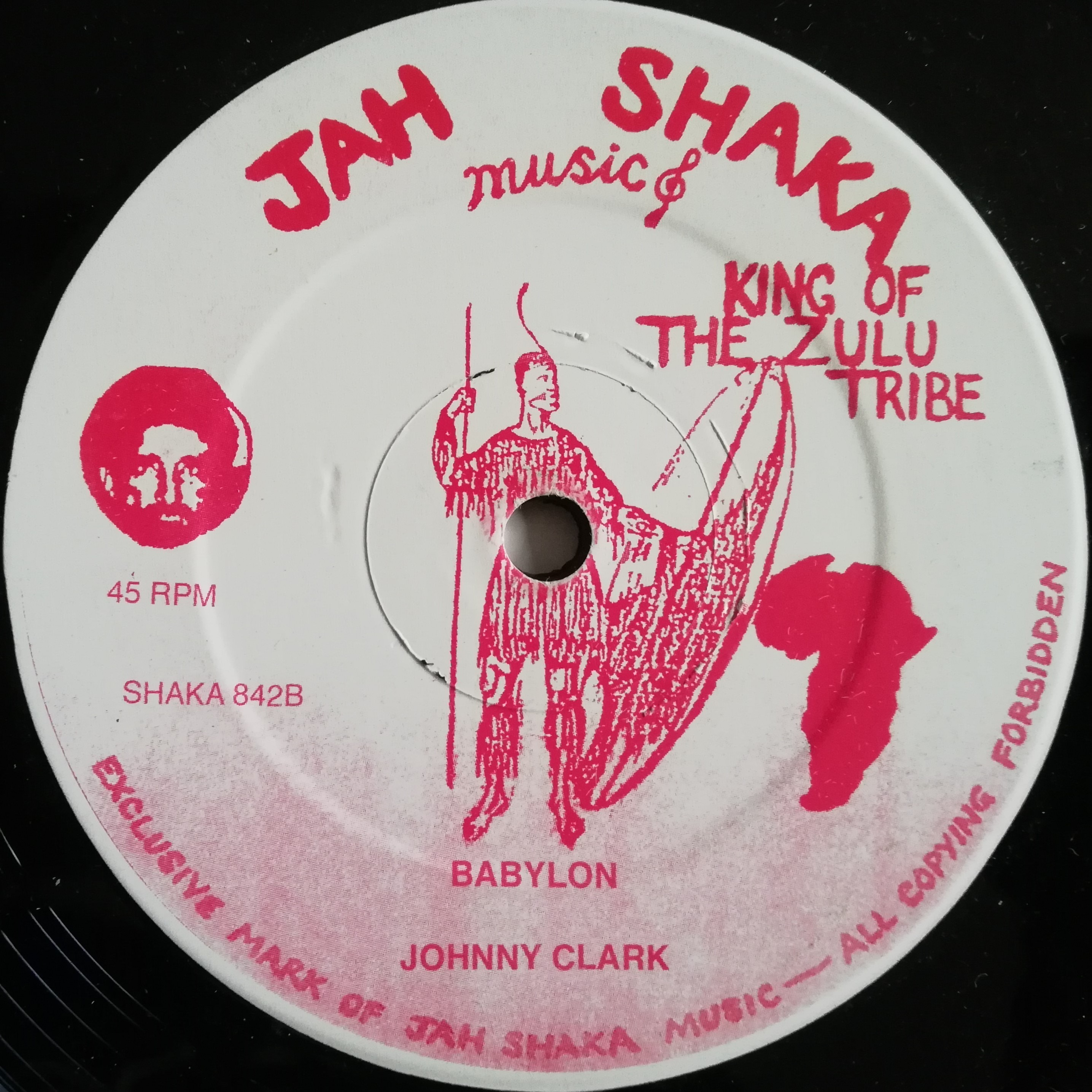"12"" JOHNNY CLARKE - BABYLON"