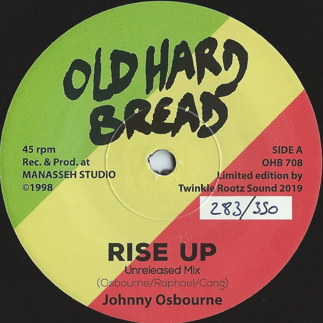 "7"" JOHNNY OSBOURNE - RISE UP"