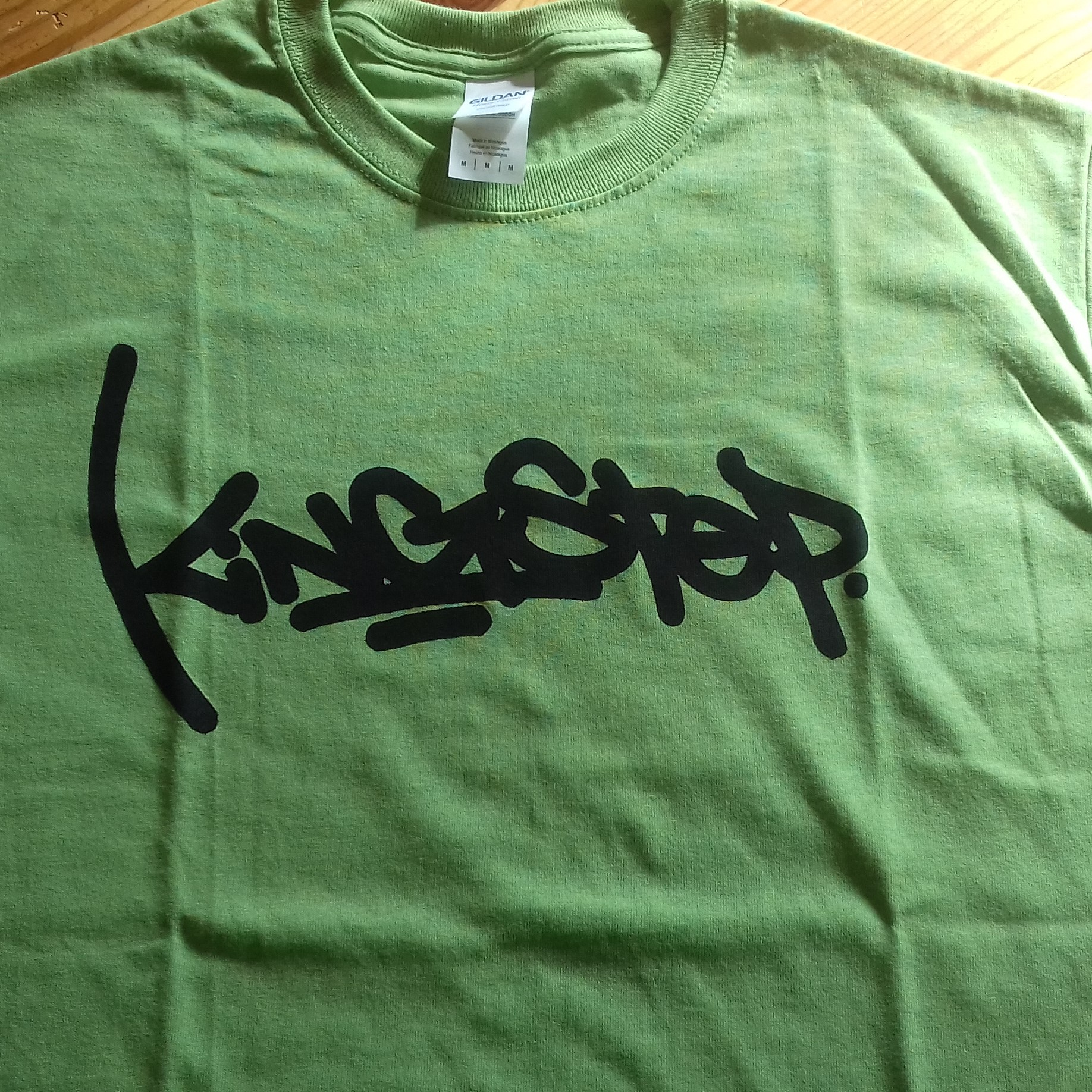 T-SHIRT KINGSTEP GREEN - M