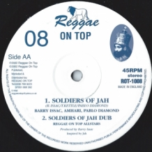 "10"" KENNY KNOTTS - NEVER GET BURN/BARRY ISSAC - SOLDIERS OF JAH"