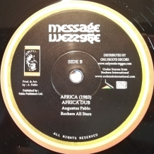 "10"" HUGH MUNDELL - AFRICA MUST BE FREE"