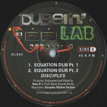 "10"" DISCIPLES - EQUATION"