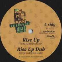 "10"" PARVEZ AKA THE DUB FACTORY - RISE UP/LEGACY"