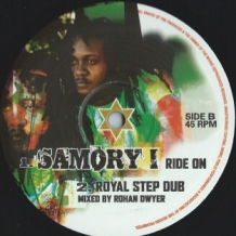 "10"" SAMORY I - RIDE ON(RUSS D REMIX)"