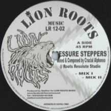 "12"" CRUCIAL ALPHONSO - PRESSURE STEPPERS/LEADERS OF NORTH AFRICA"