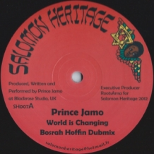 "12"" PRINCE JAMO - WORLD IS CHANGING"