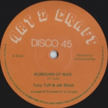 "12"" TONY TUFF - RUMOURS OF WAR"