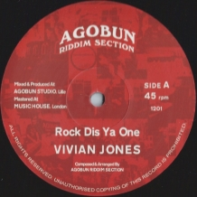 "12"" VIVIAN JONES - ROCK DIS YA ONE/WICKEDNESS"