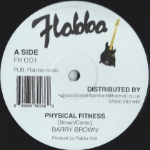 "12"" BARRY BROWN - PHYSICAL FITNESS"
