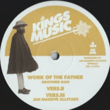 "12"" BROTHER DAN - WORK OF THE FATHER"
