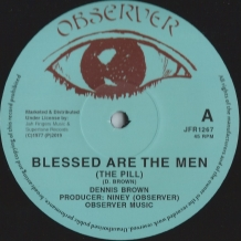 "12"" DENNIS BROWN - BLESSED ARE THE MEN"