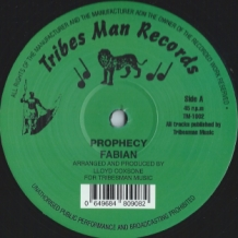 "12"" FABIAN - PROPHECY"