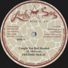 "12"" FREDDIE MCKAY - CAUGHT YOU RED HANDED"