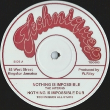 "12"" THE INTERNS - NOTHING IS IMPOSSIBLE"