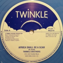 "12"" TWINKLE BROTHERS - AFRICA SHALL BE A SCAR"