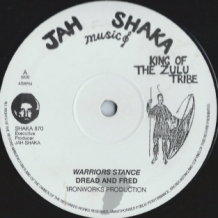 "12"" DREAD AND FRED - WARRIOR STANCE"