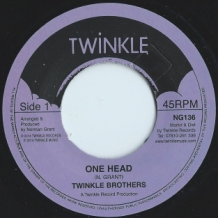 "7"" TWINKLE BROTHERS - ONE HEAD"