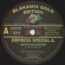 "7"" SPECIAL A - BABYLON SYSTEM"