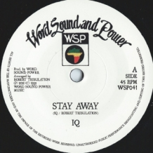 "7"" IQ - STAY AWAY"