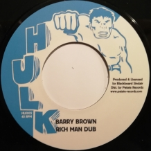 "7"" BARRY BROWN - RICH MAN POOR MAN"