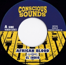 "7"" EL INDIO - AFRICAN BLOOD"