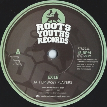 "7"" JAH EMBASSY PLAYERS - EXILE"