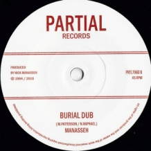 "7"" MIKEY MYSTIC - BURIAL"