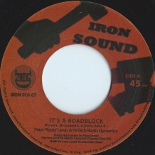 "7"" PETER ""ROOTS"" LEWIS - IT'S A ROADBLOCK"