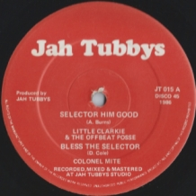 "12"" LITTLE CLARKIE SELECTOR HIM GOOD/COLONEL MITE - BLESS THE SELECTOR"
