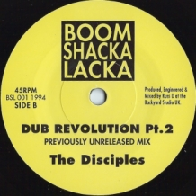 "7"" THE DISCIPLES - DUB REVOLUTION"