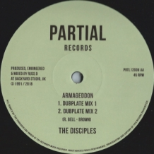 "12"" THE DISCIPLES - CHANT OF FREEDOM/ARMAGEDDON"