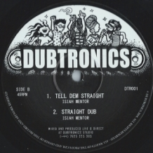 "10"" ISIAH MENTOR - ZION IN A VISION/TELL DEM STRAIGHT"