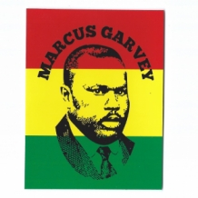 STICKER MARCUS GARVEY