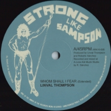 "10"" LINVAL THOMPSON - WHOM SHALL I FEAR/ FYAH INA BABYLON"