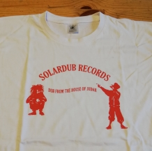 T-SHIRT SOLARDUB RECORDS LARGE