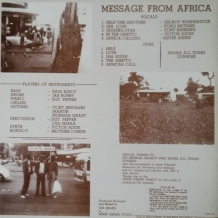 LP SHAKA ALL STARS - MESSAGE FROM AFRICA
